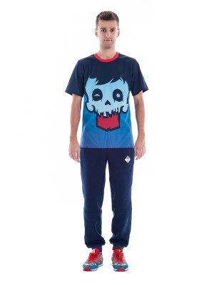 Crystal Skull T-shirt (Blue)