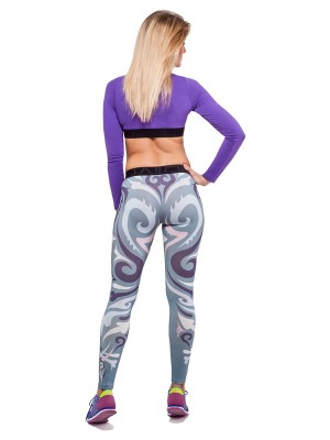 Mut Leggings (Pastel Grey)