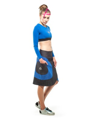 Carina Skirt (Blue)
