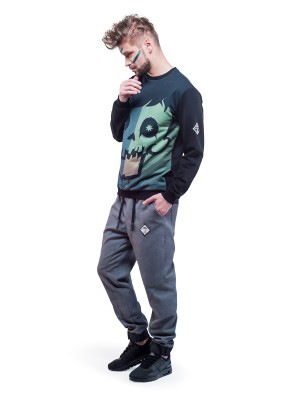 Crystal Skull Sweatshirt (Green)