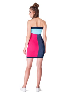 Telescopium Dress (Pink&Jeans)