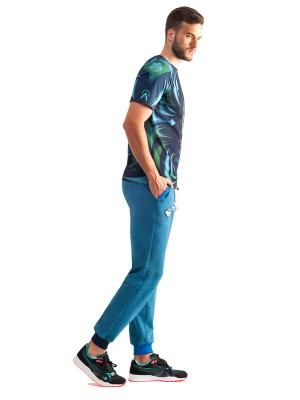 Serpens Sweatpants (Melange Blue)