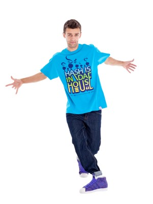 Hash In Da House T-shirt (Blue)