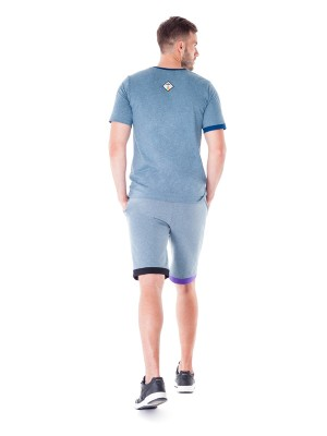 Serpens Shorts (Blue Melange)