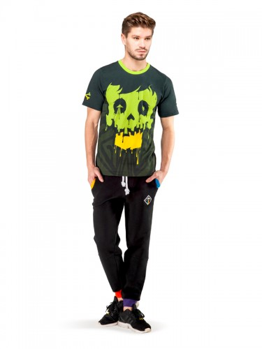 Crystal Skull T-shirt (Green)