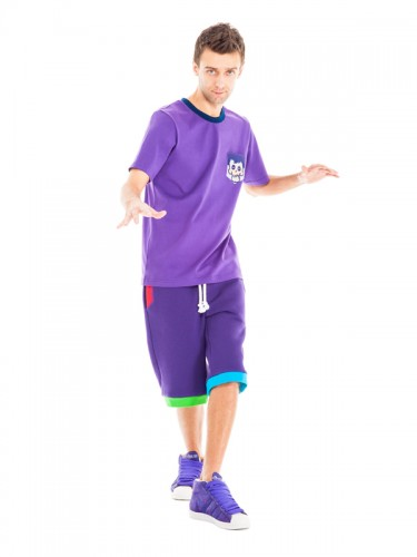 Serpens Shorts (Purple)
