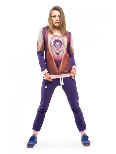 Orbit Sweatshirt (Violet)
