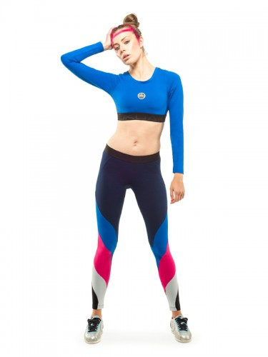 Mensa Leggings (Navy Blue)