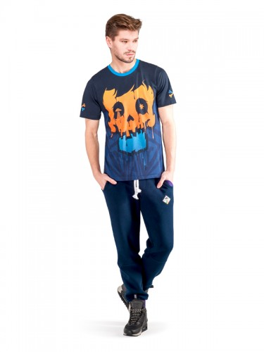 Crystal Skull T-shirt (Orange)