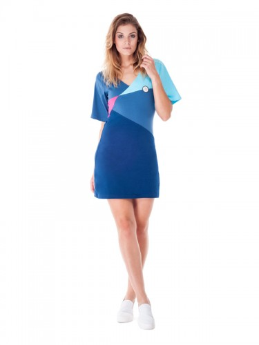 Virgo Dress (Blue)