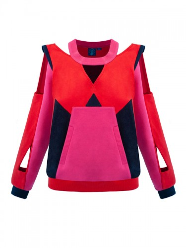 Freya Sweatshirt (Pink&Red)