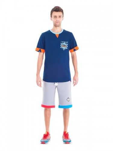 Horus Pocket T-shirt (Blue)